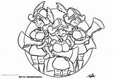 Clash Royale Coloring Three Musketeers Clowery Adam Printable sketch template