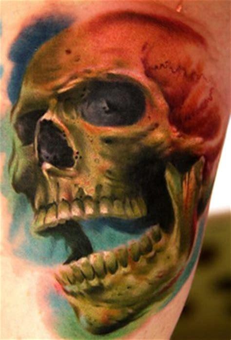 skull  snake tattoos