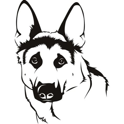 easy cartoon german shepherd front google search dogs puppy drawing cute animals puppies