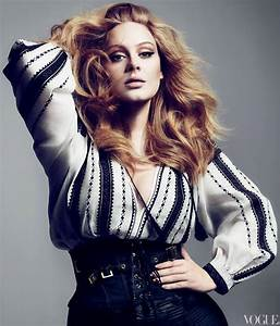 Glamour By Fatima: Sexy Adele: US Vogue March 2012  onerror=