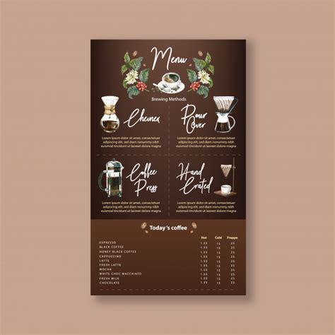 Alibaba.com offers 837 coffee house restaurant menu power bank products. Coffee house menu americano, cappuccino, espresso menu, infographic, watercolor illustration ...