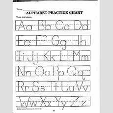 Free Printable Abc Worksheets For Preschool Preschool Alphabet Worksheets A Z Letter Tracing