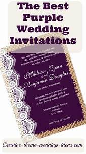 find the best purple wedding invitations for your With buy funny wedding invitations