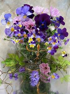 I . . . bouquet of violets | Flowers | Pinterest