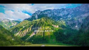 Modern Cinematic Opener and Slideshow (Top After Effects ...