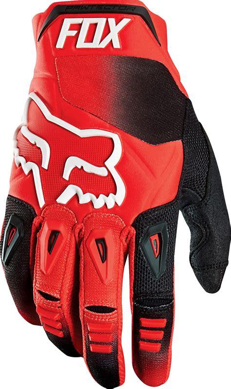 cheap motocross gear online clearance fox 2016 pawtector race gloves red online