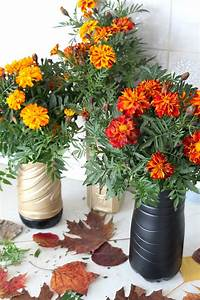DIY Flower Vase Made With Recycled Plastic Bottle