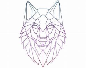 Картинки по запросу geometric wolf | Эскизы | Pinterest ...