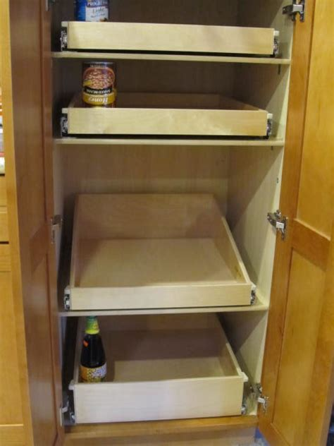Roll Out Kitchen Pantry Cabinet by Pantry Roll Out Shelves Portland By Shelfgenie Of Portland