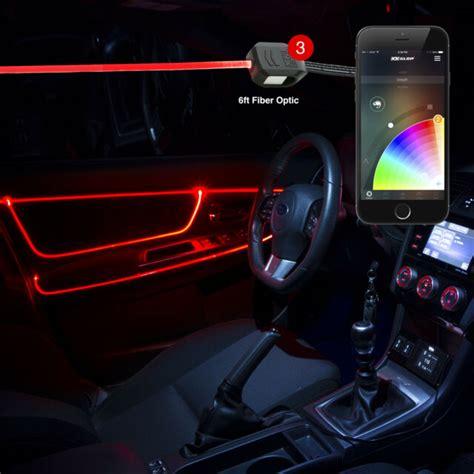 buy high power led head ft fiber optic accent neon car