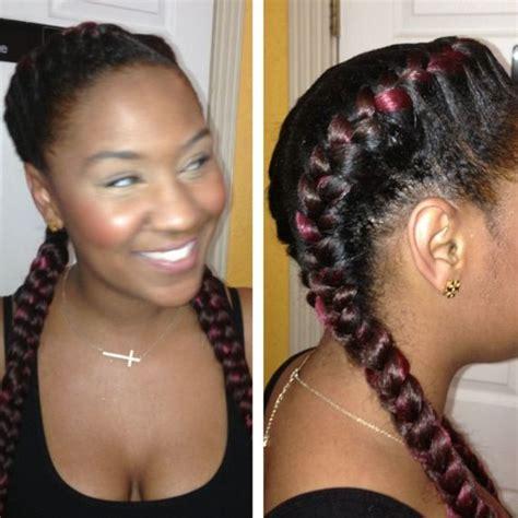 big braids cornrows hairstyle pinterest protective