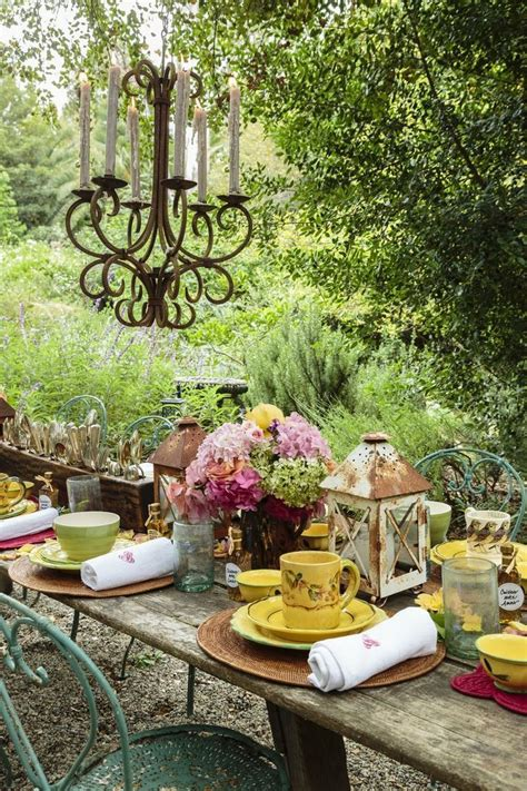 Best Ideas About Dining Garden Style Pinterest