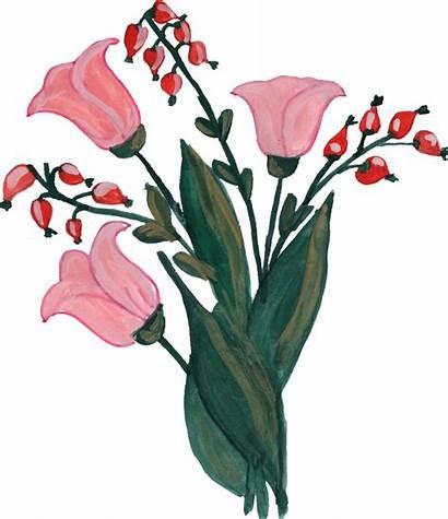 Flower Ornament Paint Transparent Vol Painted Onlygfx