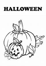 Coloring Halloween Pumpkin Carved Drawing Pumpkins Heads Getdrawings Plant Clipartqueen sketch template