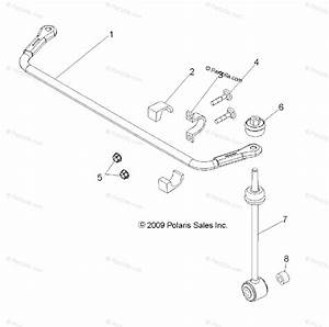 Polaris Side By Side 2012 Oem Parts Diagram For Suspension