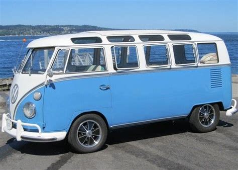 vw minivan cer sell used 1967 vw 21 window deluxe bus walk thru original
