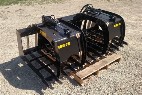 choose   skid steer attachments stinger attachments