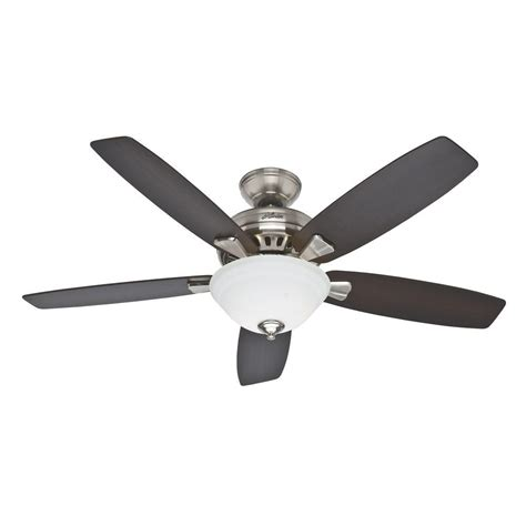 hunter banyan 52 in indoor brushed nickel ceiling fan