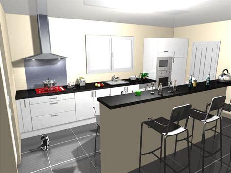 cuisine carrelage blanc idée carrelage noir avec cuisine blanc laquée 8 messages