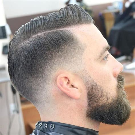 Combover With Fade For Thin Hair #SimpleHairstylesforMen ...