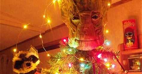 groot christmas tree popsugar