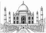 Coloring Mahal Taj Smart Pages Printable Adult Popsugar Kid Again sketch template