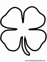 Shamrock Coloring Pages St Cut Patricks Print Stencils Sponsored Links sketch template