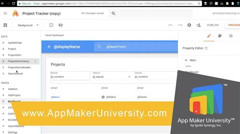Name Template Maker by App Maker Project Tracker Template Review