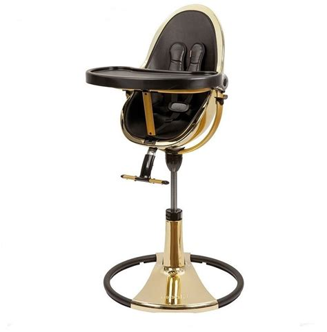 bloom chaise haute chaise haute bloom fresco chrome châssis gold black