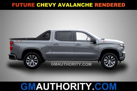 Chevrolet Avalanche 2020 by New Renderings Imagine A New Chevy Avalanche Gm Authority