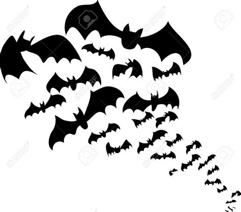 bat clipart black and white flying bat clipart clipartxtras