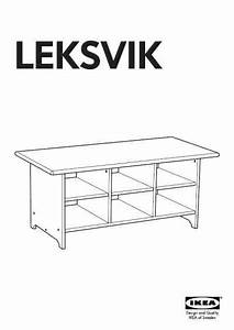 Ikea Leksvik Coffee Table 47x23 U0026quot  Furniture Download User