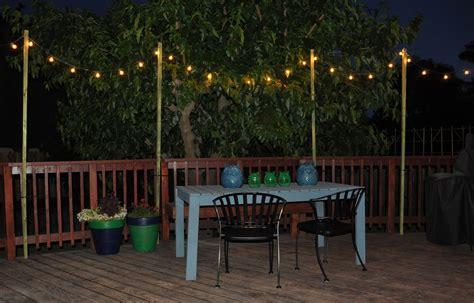backyard hanging light ideas 8 romantic rhapsody of hanging patio lights