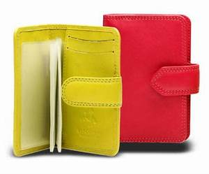 Visconti Leather Purses Neon Range Free delivery at Red