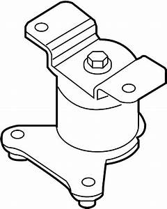 Nissan Frontier Manual Transmission Mount  Rear   Engine