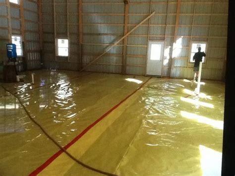 Concrete floor in new pole barn   DoItYourself.com