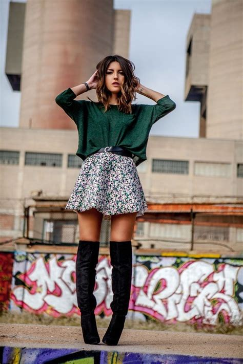 10 Winter Outfits Using Knee High Boots