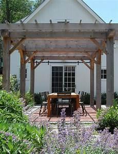 Image Result For Farmhouse Pergola