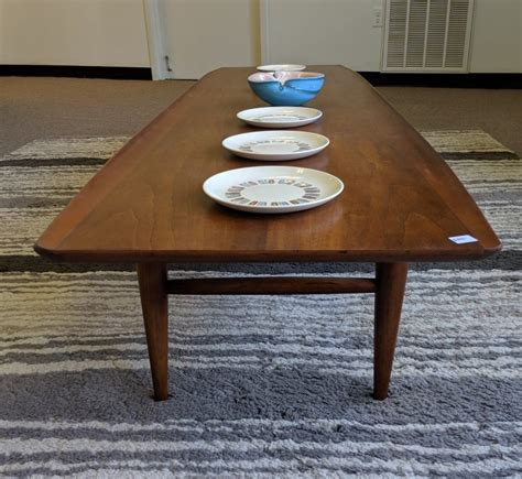 But, i suppose the same could be said for bookcases built vs. Vintage Mid Century Modern Bassett Artisan Walnut Coffee Table - EPOCH