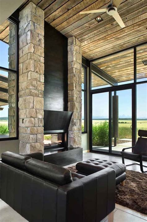 visionary residence  idaho comprised  rammed earth