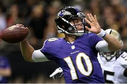 Ravens Baltimore Keith Wenning Quarterback Saints Orleans