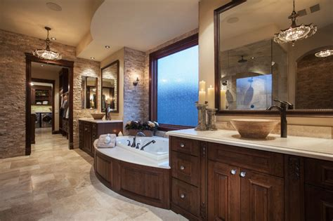 Rustic & Elegant Master Ensuite  Rustic Bathroom