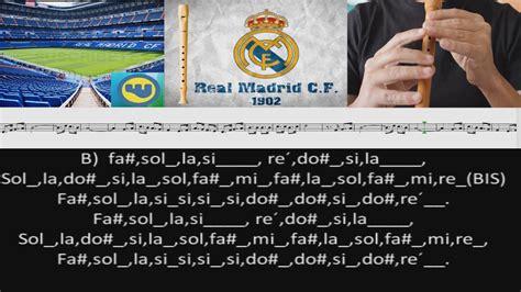 Himno Real Madrid Flauta