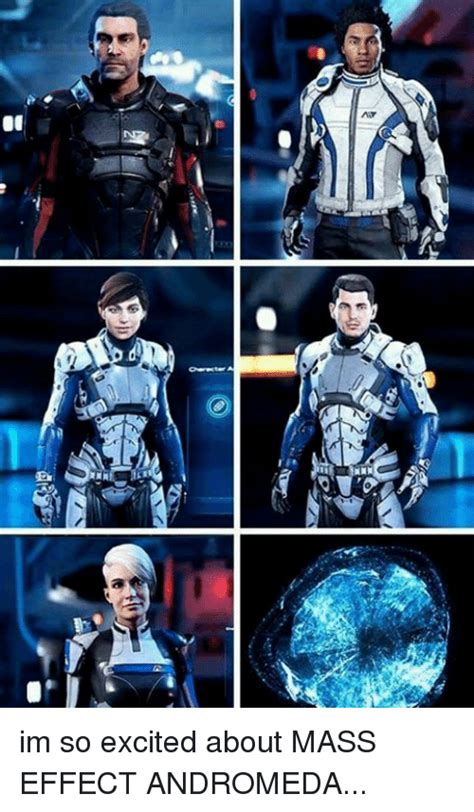 Mass Effect Andromeda Memes - 01 im so excited about mass effect andromeda meme on me me