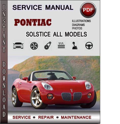 auto repair manual online 2006 pontiac solstice user handbook pontiac solstice service repair manual download info service manuals
