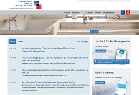 Schiefer Fachverband In Deutschland by Fachverband Fliesen Und Naturstein Schiefer Verb 228 Nde