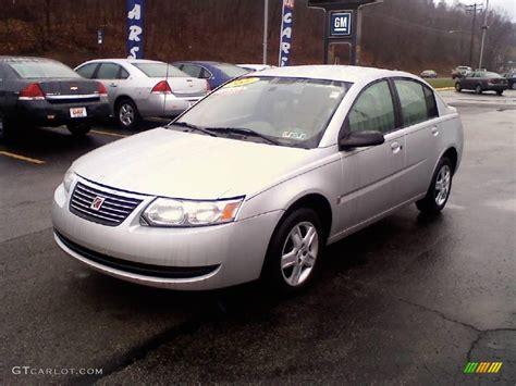 2007 Silver Nickel Saturn Ion 2 Sedan #23376049