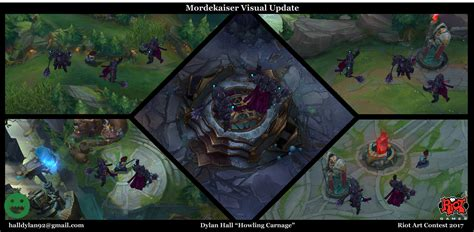 mordekaiser visual update  riot art contest
