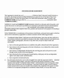 Good faith agreement template good faith agreement good for Good faith contract template