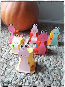 Bricolage A Faire Avec Des Petit : escargots en pot de yaourt bricolage automne recyclage ~ Melissatoandfro.com Idées de Décoration